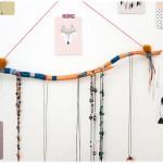 DIY support colliers bois flotté