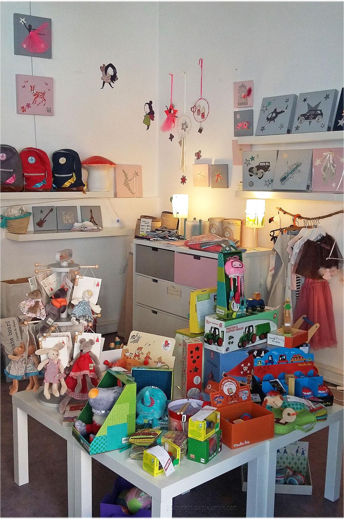 boutique enfants la fée m'a dit Marseille