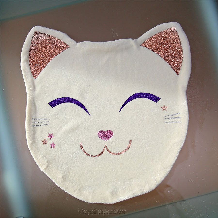 diy coussin chat kawaii
