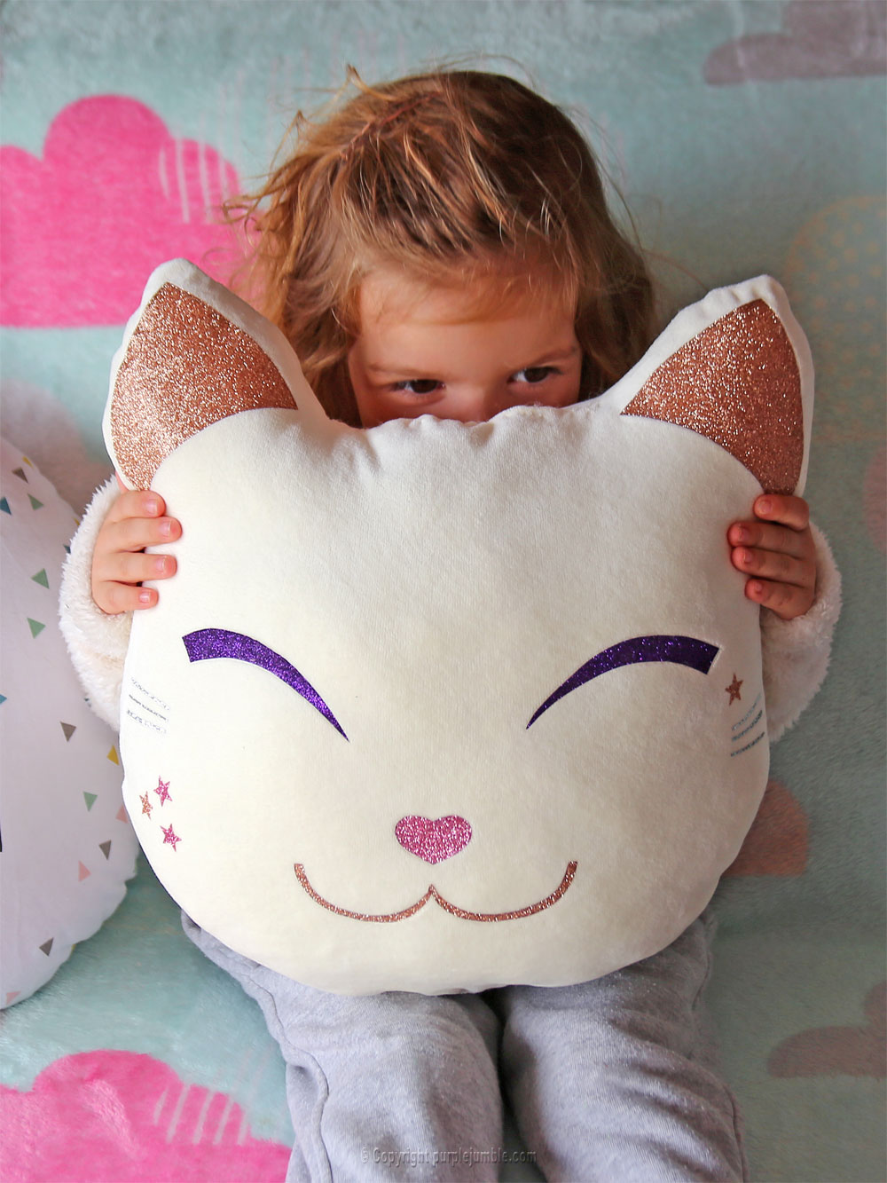 diy coussin chat kawaii calin