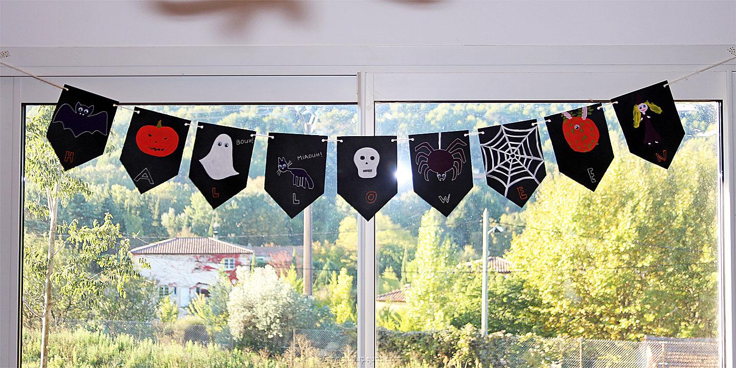 diy guirlande halloween