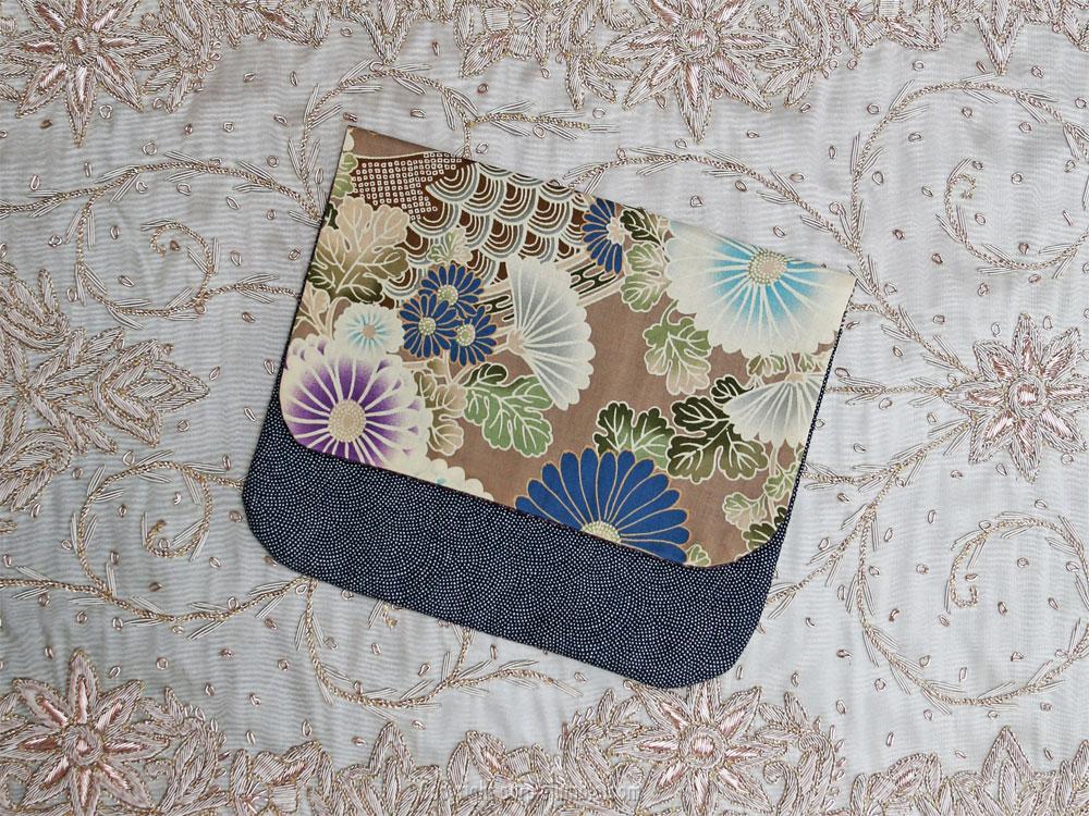 diy pochette tissus japonais