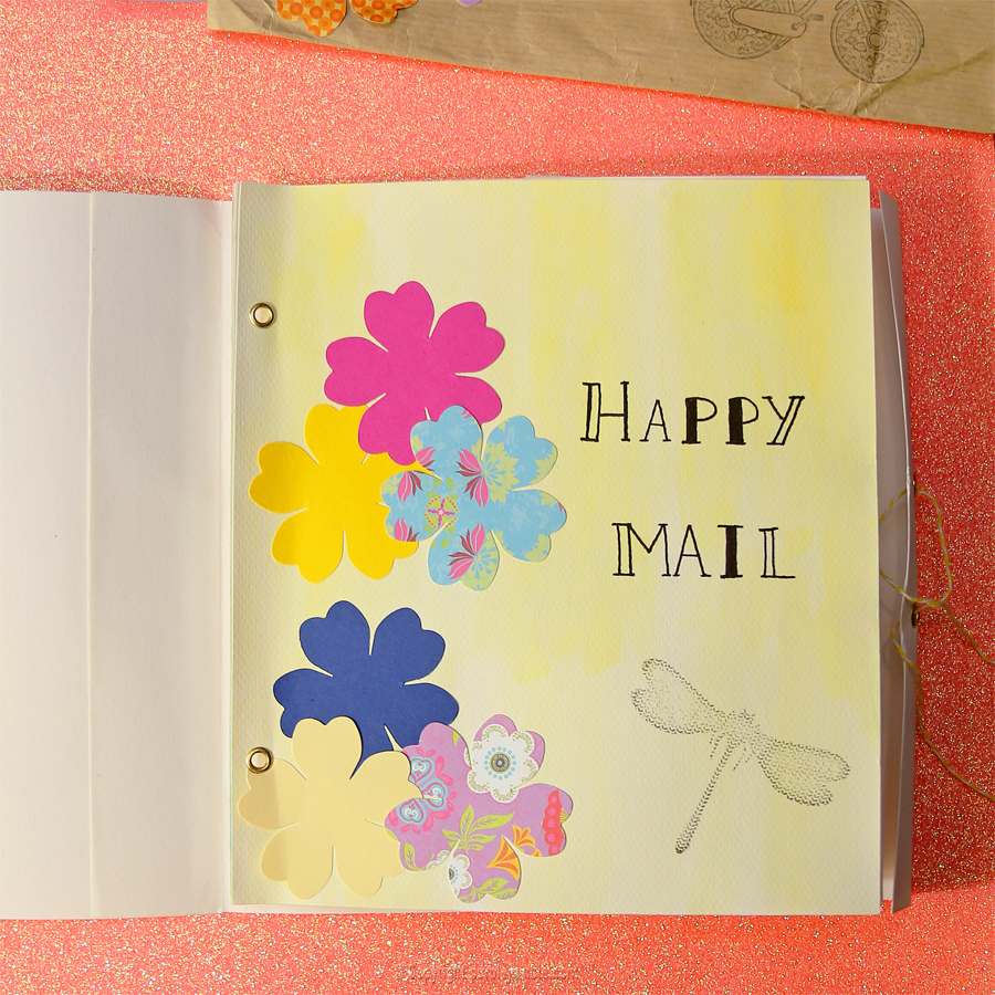 happy mail projet diy What my hands made