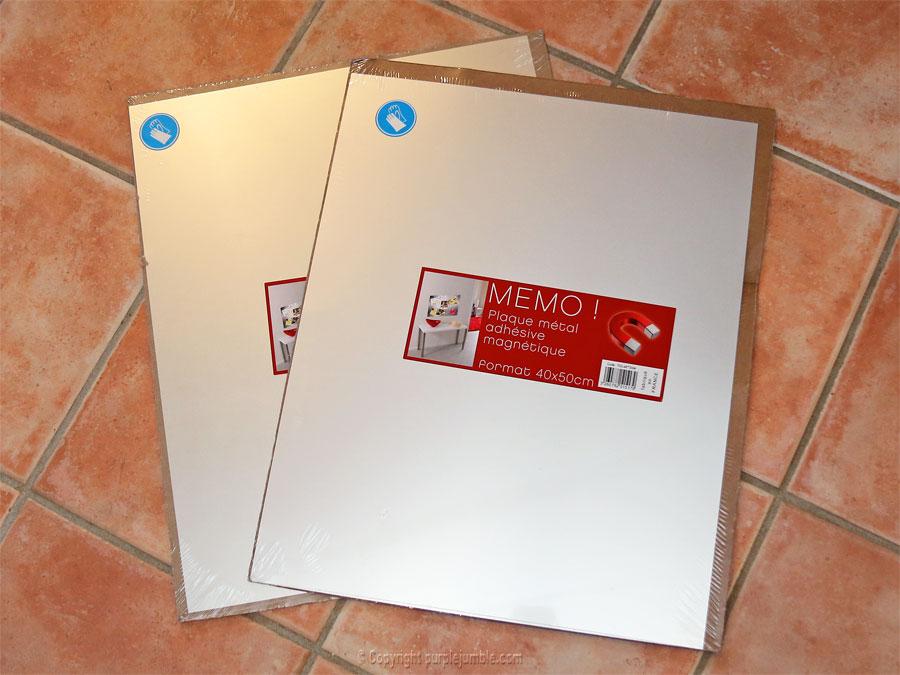 panneau aimanté magnets plaques