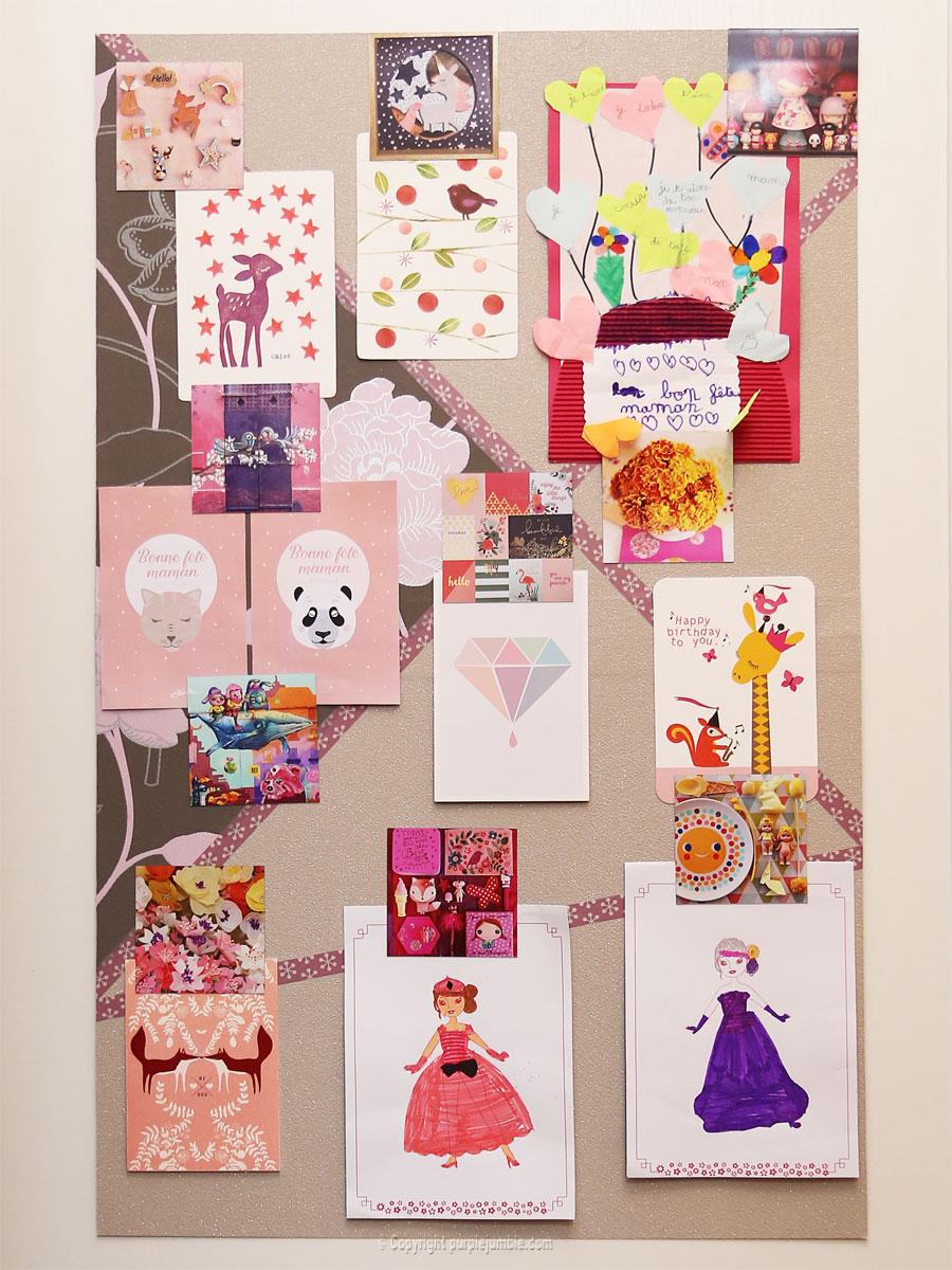 panneau aimanté magnets cartes