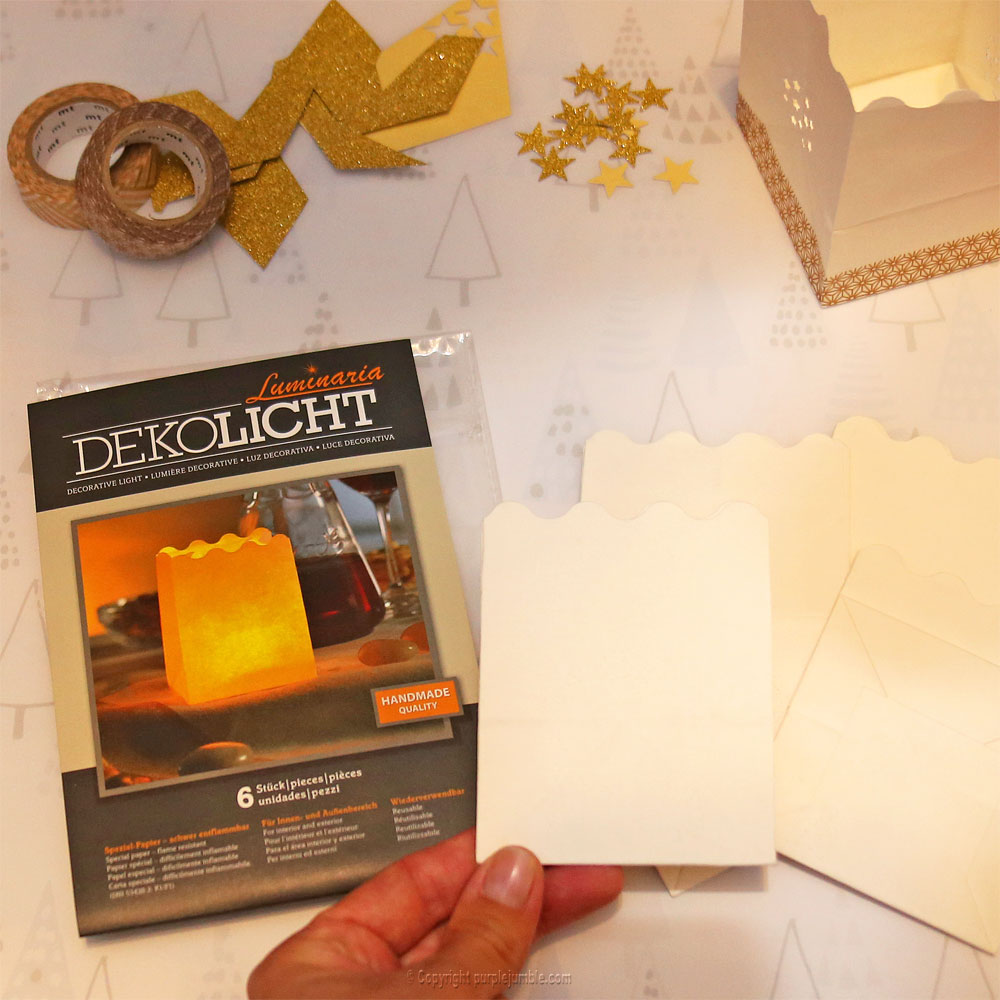 diy bougeoirs marque-place déco noël