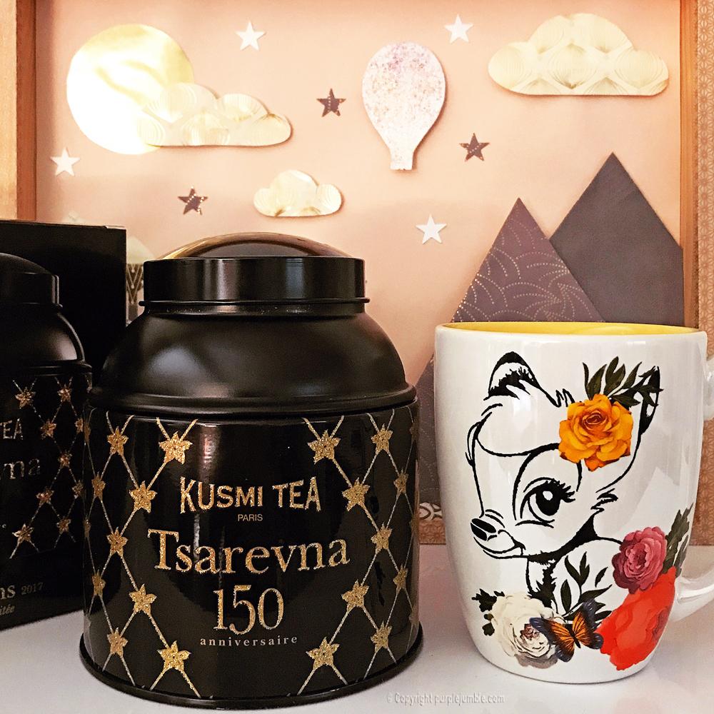 kusmi tea tsarevna mug bambi disney