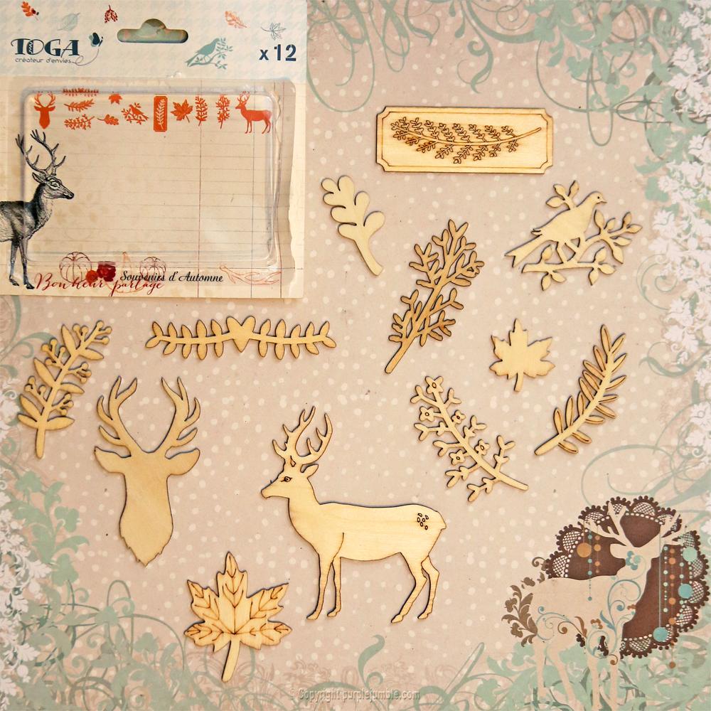 toga décorations bois