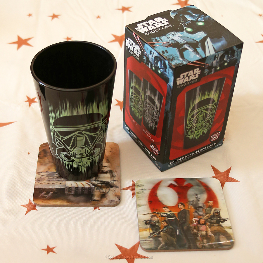 wootbox star wars rogue nation sous verre