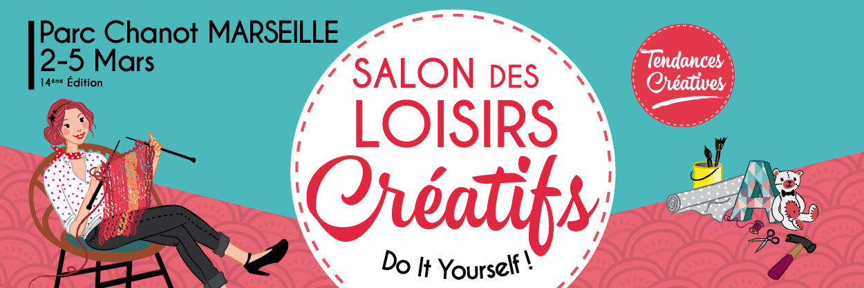 Le salon tendances cr atives marseille purple jumble - Salon loisirs creatifs marseille ...