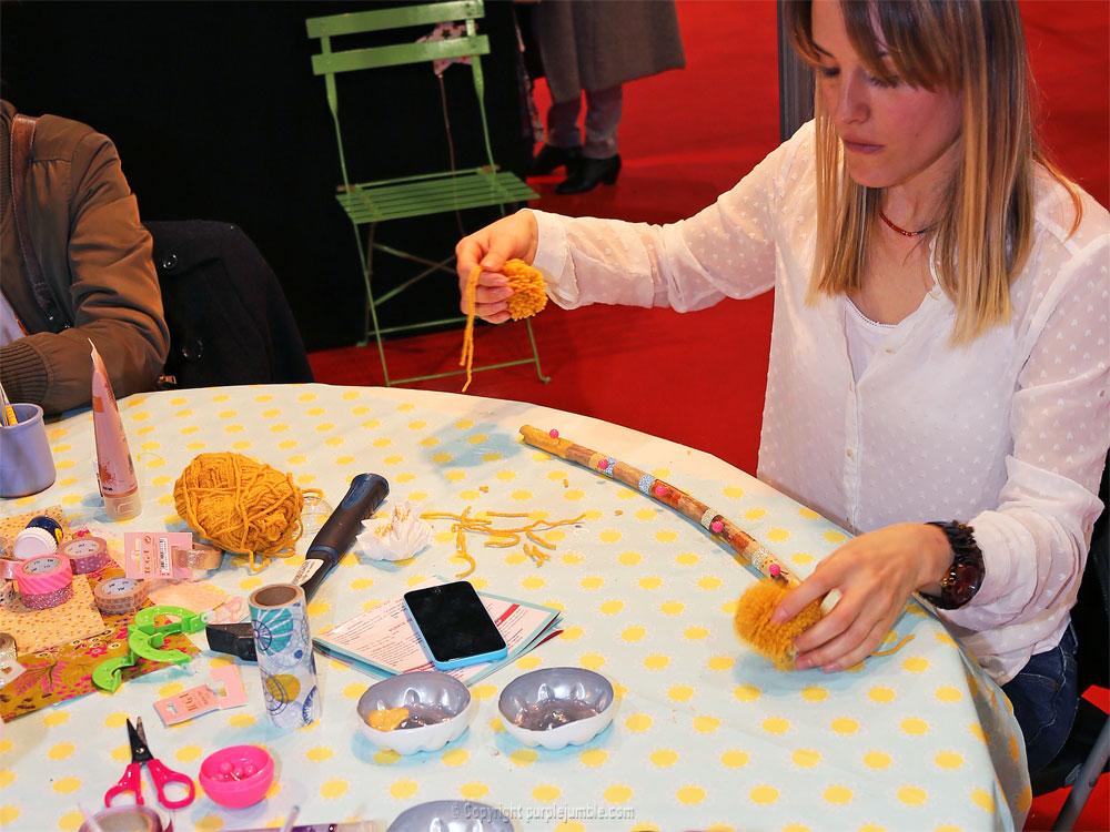 salon tendances créatives Marseille ateliers support bijoux bois