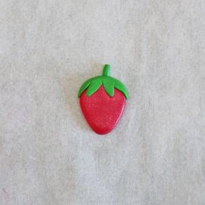 fimo kawaii projet diy fraise 2