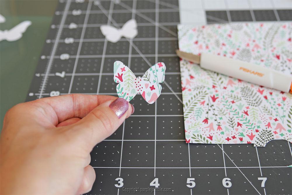 diy papillons papier terrarium modèle 3