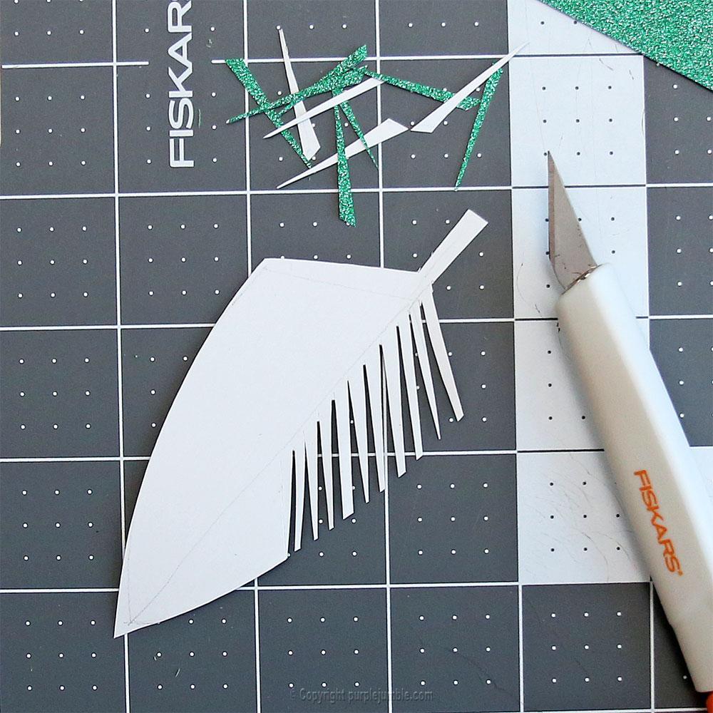 diy perroquet papercut cutter