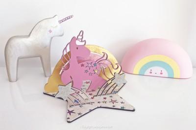 creavea kit licorne bois