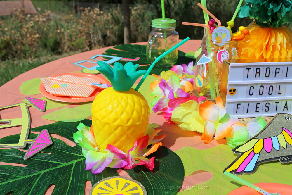 table tropicale vegaooparty