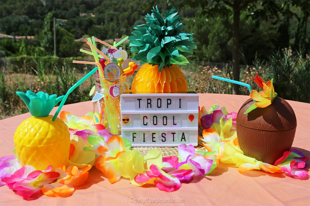 table tropicale vegaooparty lightbox