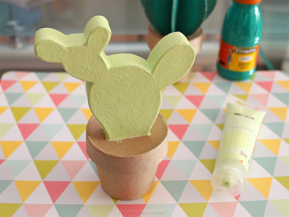 diy cactus carton creavea vert clair