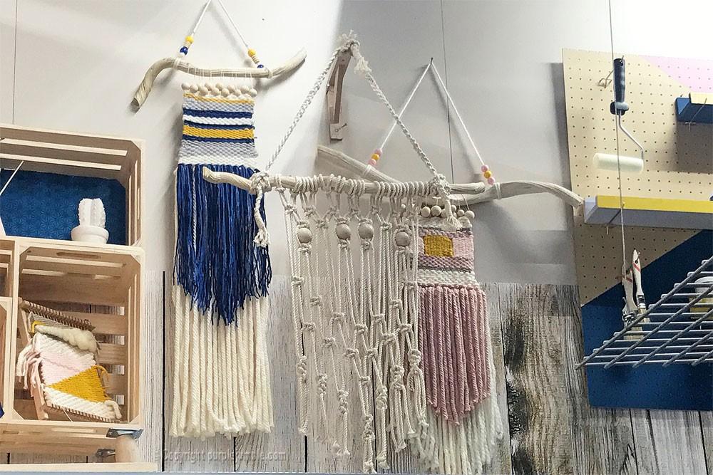 DIY suspension macramé zodio magasin déco