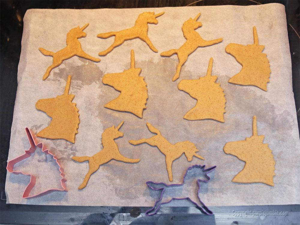 biscuits licornes découpe
