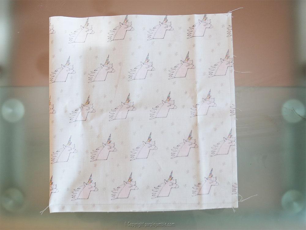 diy panier tissu enduit licorne rico design couture