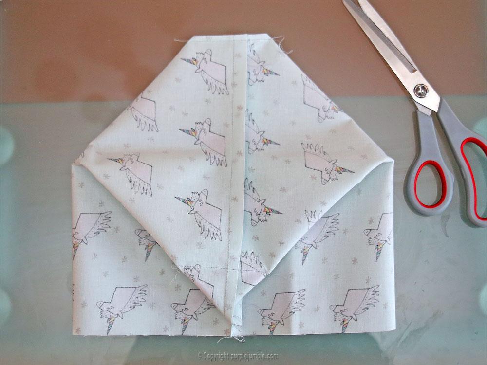 diy panier tissu enduit licorne rico design fond