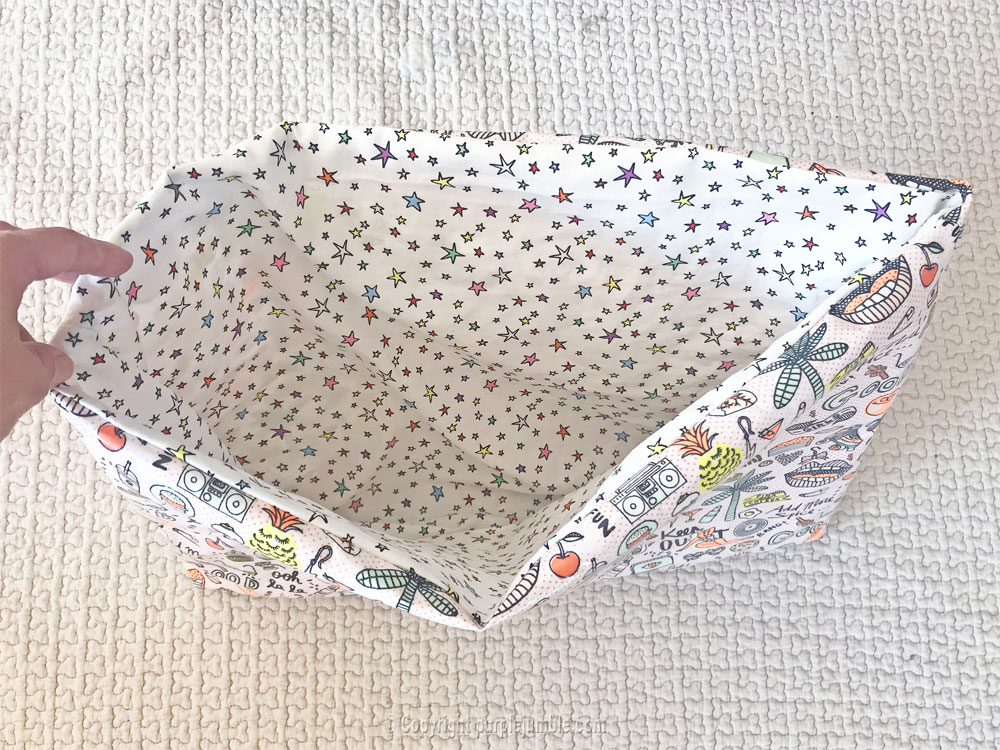 diy sac cabas tissu rico design doublure
