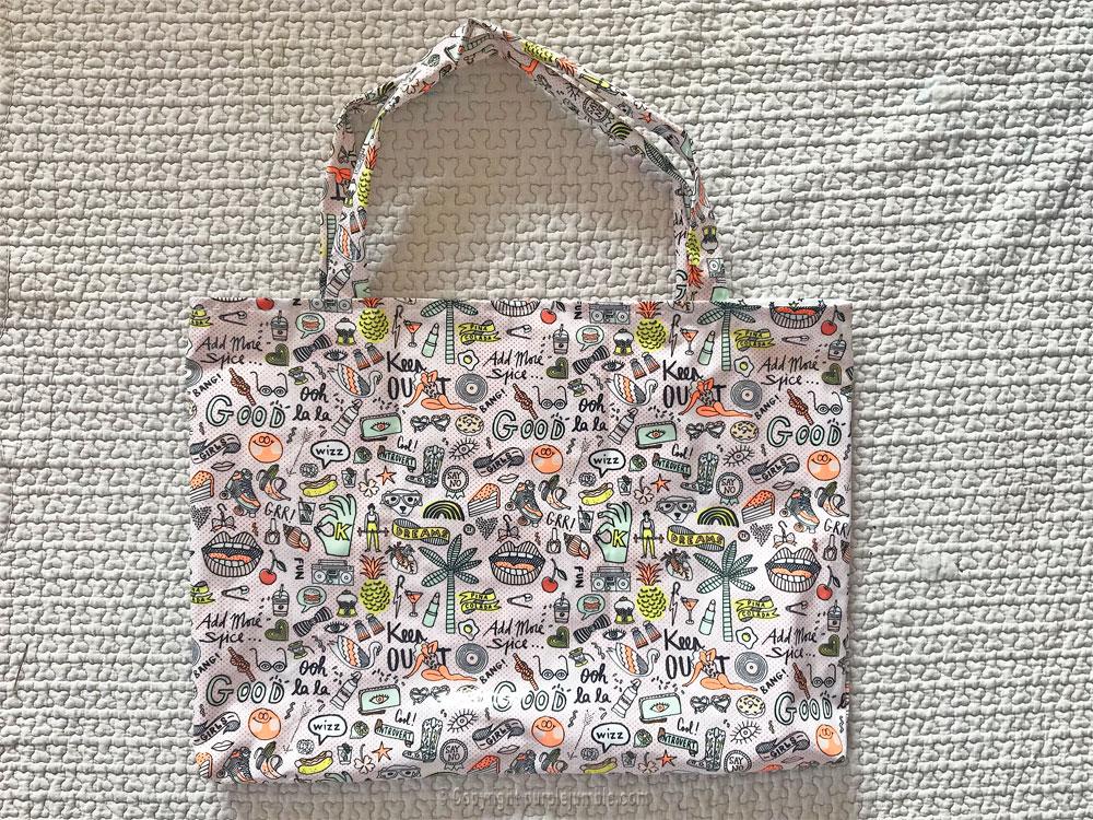 diy sac cabas tissu rico design fini