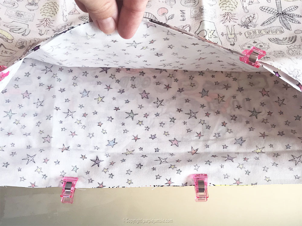 diy sac cabas tissu rico design assemblage