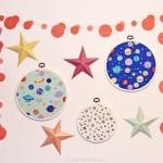diy tambours à broder tissu rico design galaxie mur