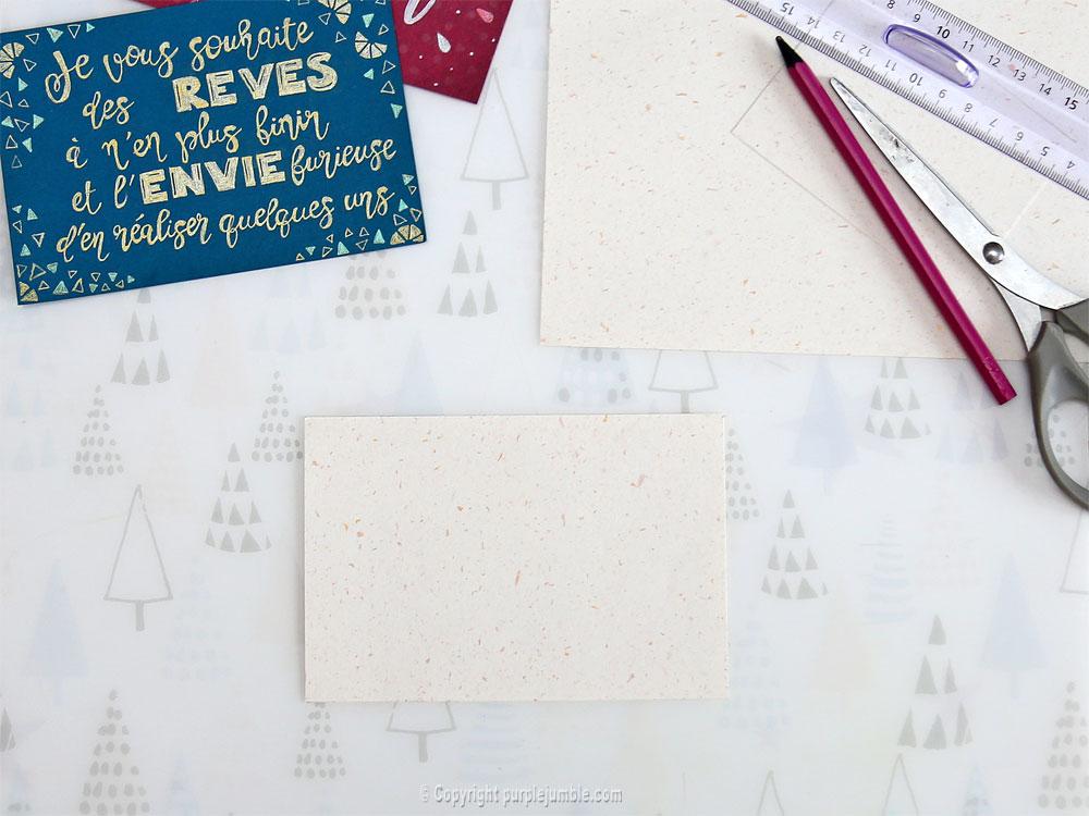 diy cartes de vœux edding handlettering support