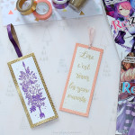 diy marque pages embossage