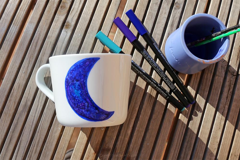 diy saint valentin mug edding bleu
