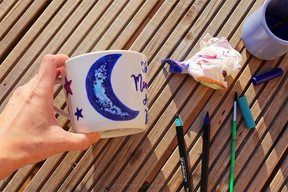 diy saint valentin mug edding dégradé