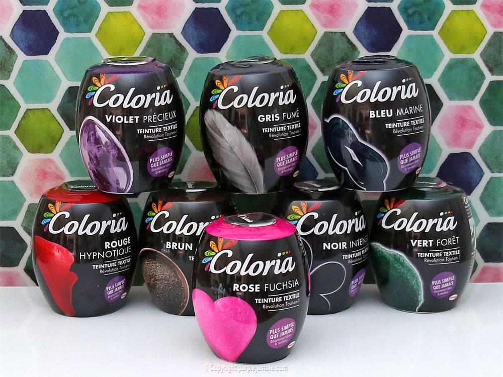 diy pochette teinture textile coloria sphères