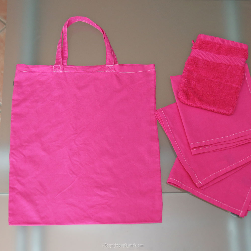 diy teinture textile coloria tote bag