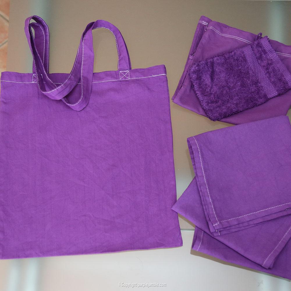 diy teinture textile coloria linge