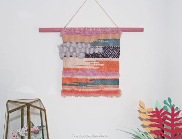ma broche sobi en perles miyuki purple jumble. Black Bedroom Furniture Sets. Home Design Ideas