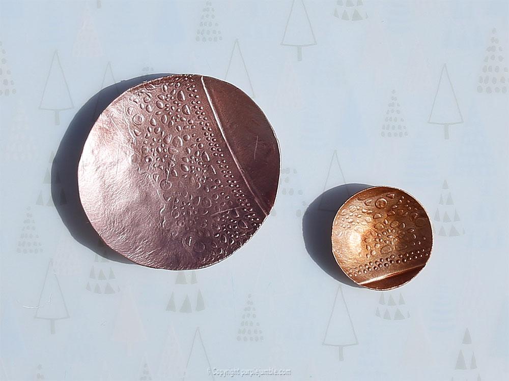 diy coupelles peinture metallisée edding duo