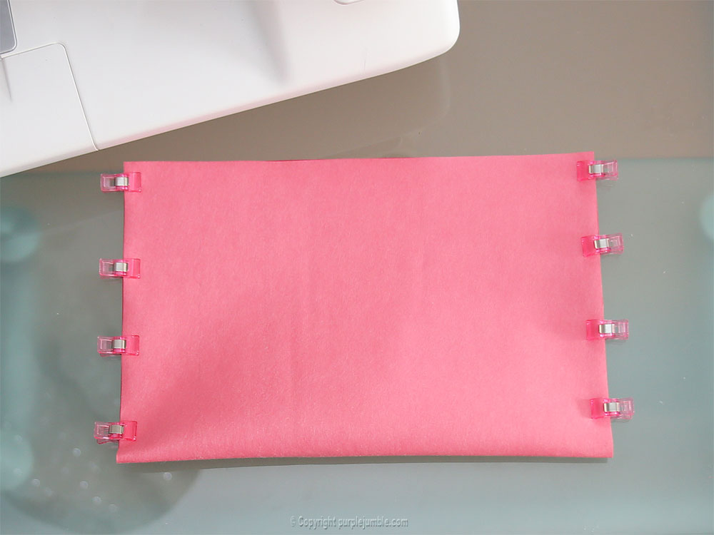 diy pochette simili cuir coupon