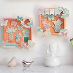 diy cadres printemps toga décoration murale