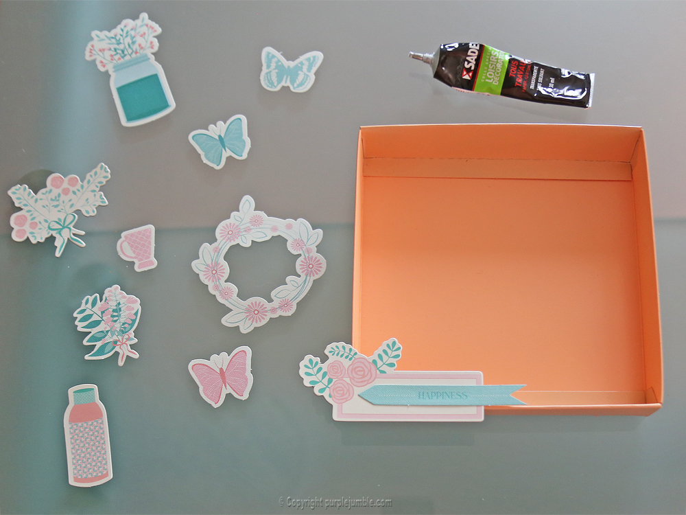 diy cadres printemps toga collage