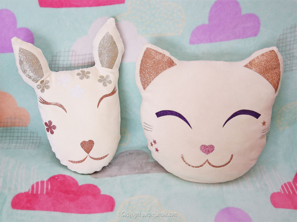 diy coussin biche chat