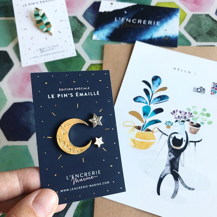 pin's l'encrerie marine
