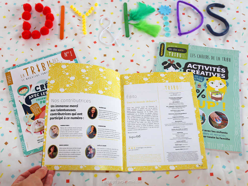 article magazine LTDI diy enfants participation