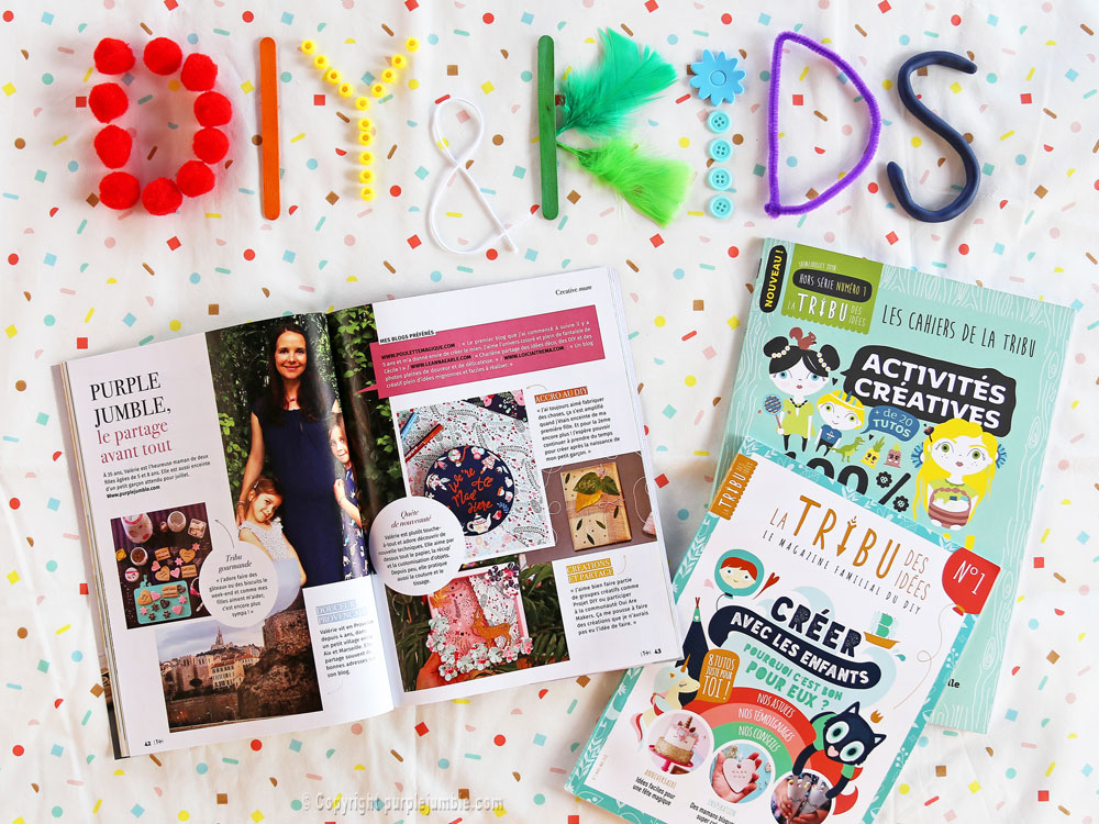 article magazine LTDI diy enfants interview