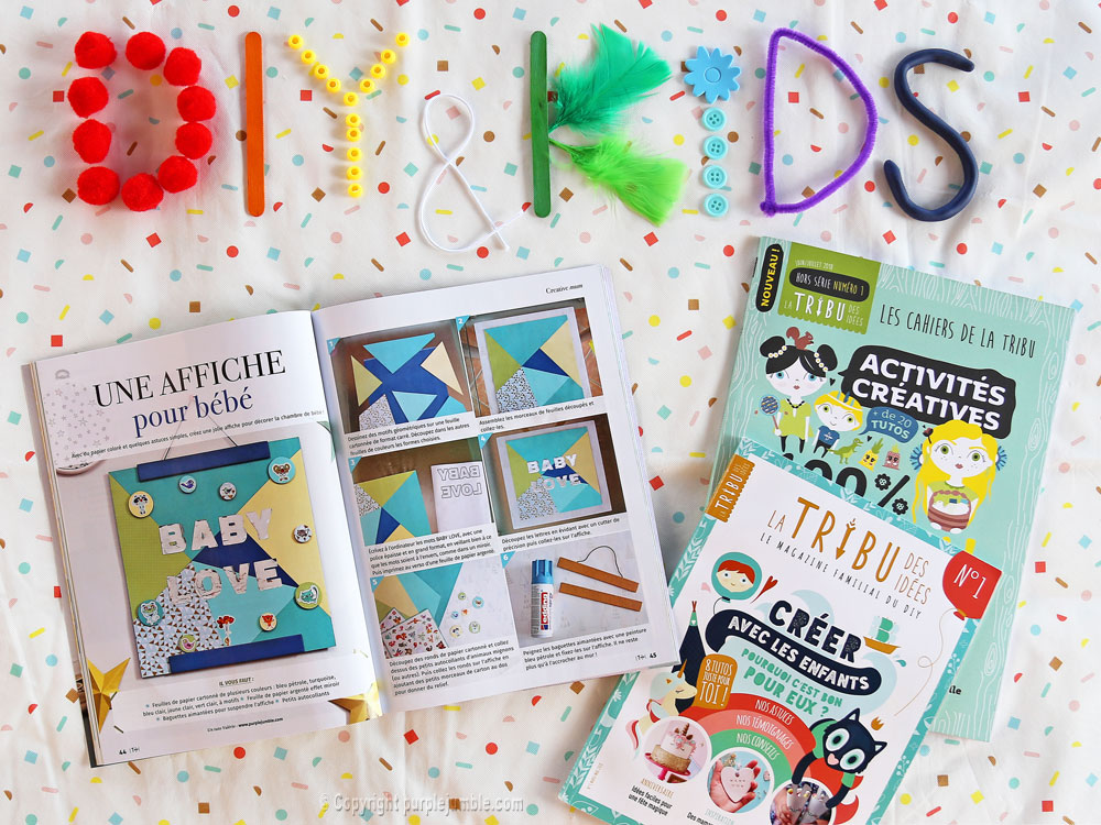 article magazine LTDI diy enfants tuto