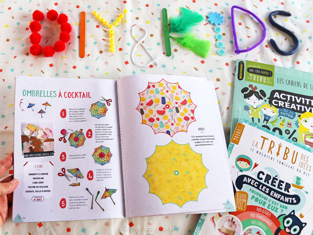 article magazine LTDI diy enfants tutoriel