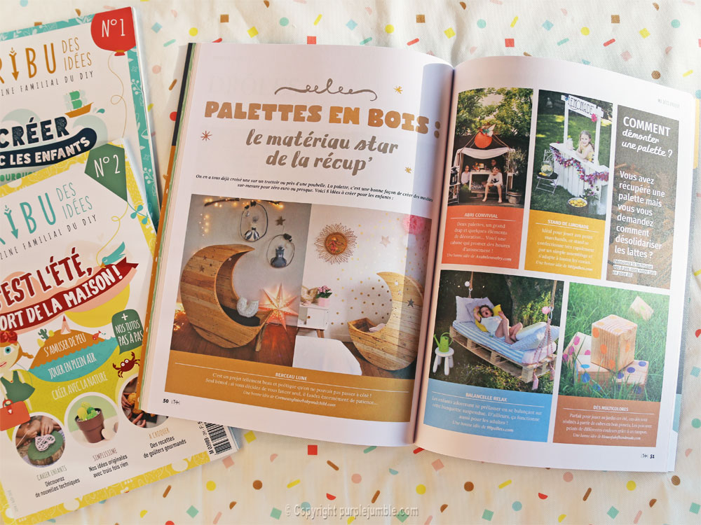 article magazine LTDI diy enfants upcycling