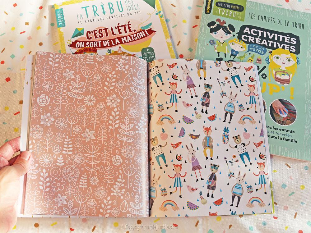 article magazine LTDI diy enfants papier